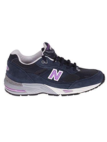 NEW BALANCE M991SMN sneaker unisex in camoscio Blue