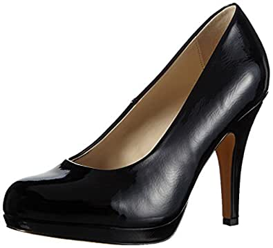Another Pair of Shoes PamelaaE1, Women's Platform Pumps, Black (black01), 4 UK