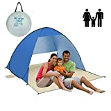 AOGETYO Instant Sun Shade Tent POP UP Family UV Play Beach Tent Cabana