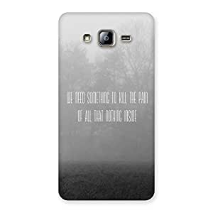 Neo World Kill The pain Back Case Cover for Galaxy On5