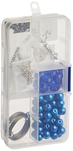 linpeng cr-1215Kristall und Perle Rosenkranz Halskette DIY Kit