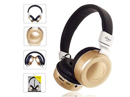 Auricolare Wireless Bluetooth Headset 4.0 Auricolare stereo per telefono sportivo Gold