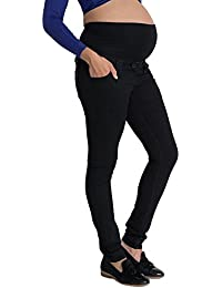333f08958b1 Black Skinny Maternity Jeans  Over The Bump