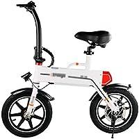 Plegable Bicicleta eléctrica Plegable Coche Ultra Ligero pequeño Bicicleta Mini Dos Ruedas Scooter Litio batería Adulto