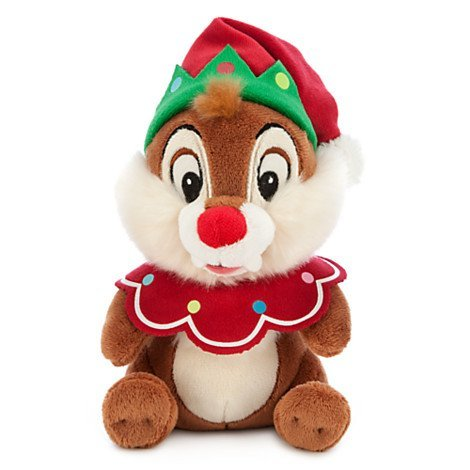 Disney Exclusive Chip N Dale- Dale 7 Beanie Holiday Plush by Disney -