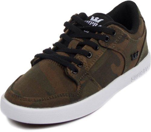 Supra, Sneaker bambini Verde Camo Verde (Camo)