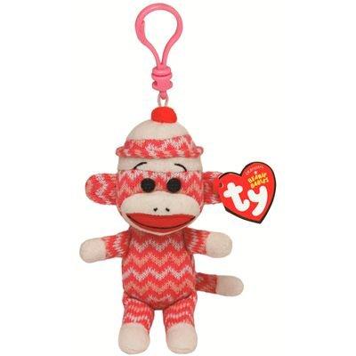 ty-7140955-ty-felpa-beanie-babies-calcetines-clip-mono-de-calcetin-rosa-blanco-zig-zag-85cm
