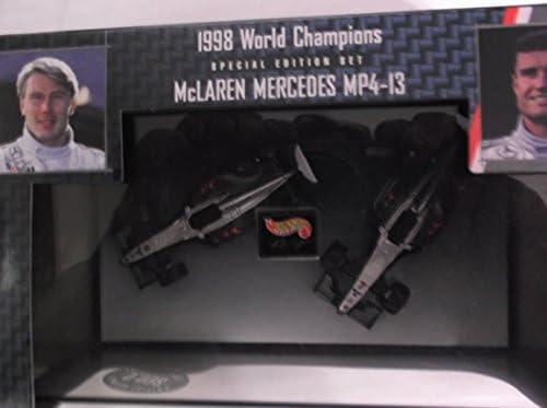 Hot Wheels 1/64 1/64 1/64 F1 Model Car 22808 - McLaren Mercedes MP4-13 1998 World Champs | à Gagnez Un Haut Admiration  085e66