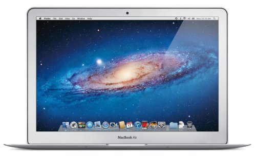 Apple MC965D/A MacBook Air 33,8 cm (13,3 Zoll) Notebook (Intel Core i5-2557M, 1,7GHz, 4GB RAM, 128GB Flash Speicher, Intel HD Graphics 3000, Mac OS) (Apple Macbook Air I5)