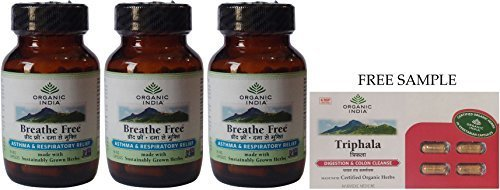 organic-india-breathe-free-60-veg-capsules-pack-of-3-dhl-expedited-delivery-with-free-product-sample