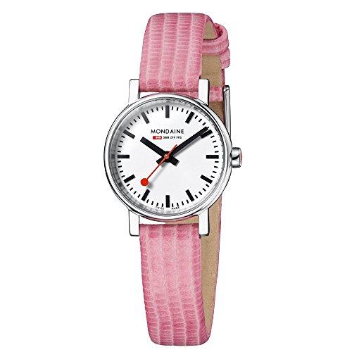 Mondaine A658.30301.11SBP Ladies Evo Pink 26 mm Dial Swiss Quartz Watch