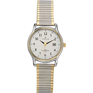 Certus - 642319 - Montre Femme - Quartz Analogique - Cadran Argent - Bracelet Métal Bicolore