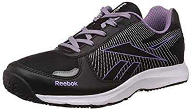 Reebok Women's Extreme Speed V Black, Silver and White Running Shoes - 4 UK