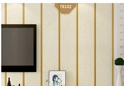 Tapeten 3D Dreidimensionale Minimalistische Moderne Gestreifte Vliestapete, Hirsch Haut Plüsch, Wohnzimmer Tv Hintergrundbild Schlafzimmer, Gelb