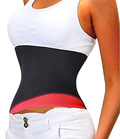 Gotoly Hot Sweat Neopren Shaper Belt Taillenmieder Gurt Yoga Sauna Anzüge (S Fits 23.6-26.8 Inch Waistline,