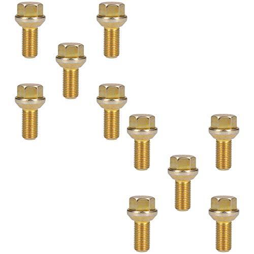 AB Tools-Indespension M14 x 1,5 Ersatz-Radschrauben konisch für Trailer Hubs Hub 10er Pack -