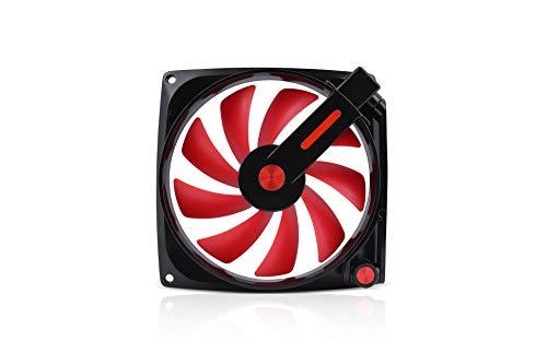 IN Win - Ventilateur IN Win Mars Noir/Rouge - 120mm - Mars Black/Red