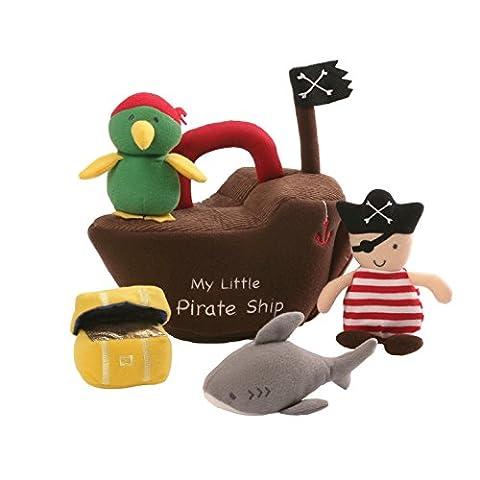 Bébé Gund Jeu Bateau Pirate (Multicolore)