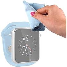 DURAGADGET Gamuza Limpiadora Para Reloj AGPtek A1 | LaTEC | Pebble Classic | Time Round | Posma W1 | Pushman 1 | Zolimx U80 - Mantenga Dispositivo Impecable