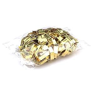 Moritzen-Verpackungen Verschlussclips, 200 Stück, Verschluss-Clips Verschlüsse Tütenverschluss ideal für Cellophanbeutel Zellglasbeutel Cellofanbeutel Bodenbeutel Zellofanbeutel