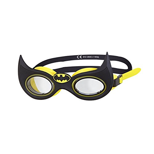 Zoggs Kinder Batman-Junior Character Goggle Schwimmbrille, Black, One Size