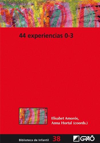 44 Experiencias 0-3: 038 (Biblioteca De Infantil) por Anna Hortal Corbella