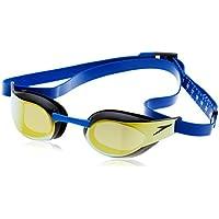Speedo Fastskin Elite Occhialino, Beautiful Blue/Oro
