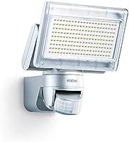 Steinel LED-Strahler XLED Home 1 silber, Scheinwerfer mit 140° Bewegungsmelder, max. 14 m Reichweite, 920 lm, 6700 K