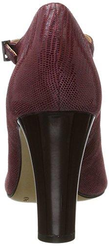Caprice 24401, Escarpins Femme Rouge (Bordeaux Rept.)