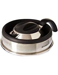 Outwell Collaps Kettle 1.5L Negro, Acero inoxidable tetera - teteras (165 mm, 145 mm)