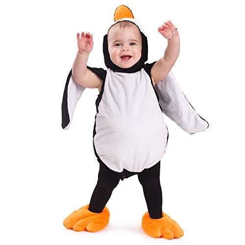 Dress Up America 871 - Pinguin Baby Fancy Kostüm für Kinder, 12-24 (Halloween Kostüme Pinguin)