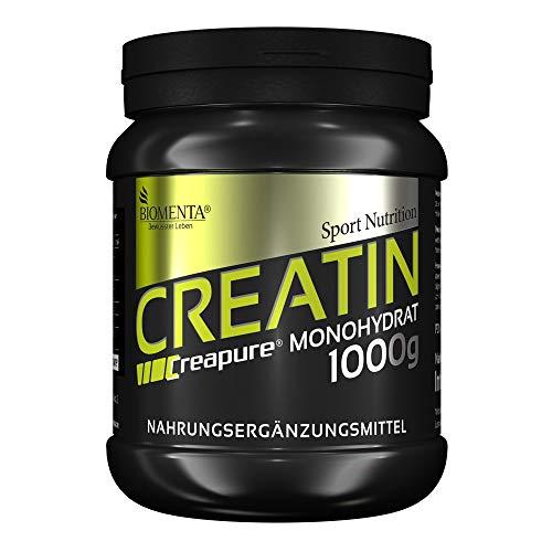 Biomenta Creatina Monoidrato in Polvere qualità CREAPURE® - 1000 g