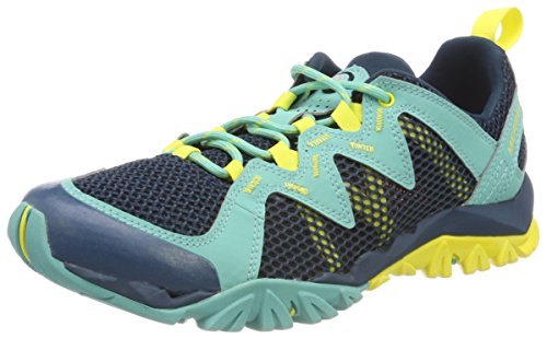 Merrell Tetrex Rapid Crest, Zapatillas de Senderismo para Mujer, Turquesa (Turquoise), 37.5 EU