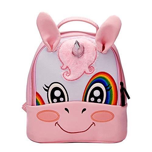 Galleria fotografica YSAN Toddler Kids Waterproof Preschool Bag Cute 3D Animal Backpack,Unicorn-OneSize