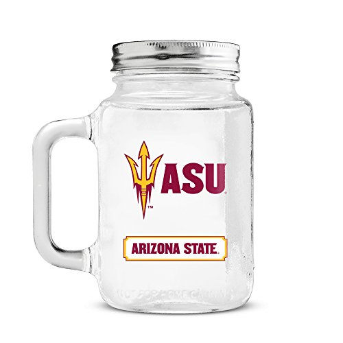 Duck House NCAA Arizona State Sun Devils Mason Jar, 591 -