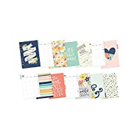 Carpe Diem Posh Monthly Inserts, Multi-Colour