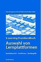 E-Learning Praxishandbuch. Auswahl von Lernplattformen Taschenbuch