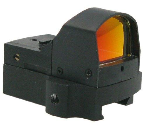 Mini Reddot mit Lichtsensor, aus Metall, mit automatischer Helligkeitseinstellung - schwarz