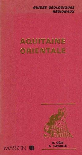 Guides géologiques : Aquitaine orientale