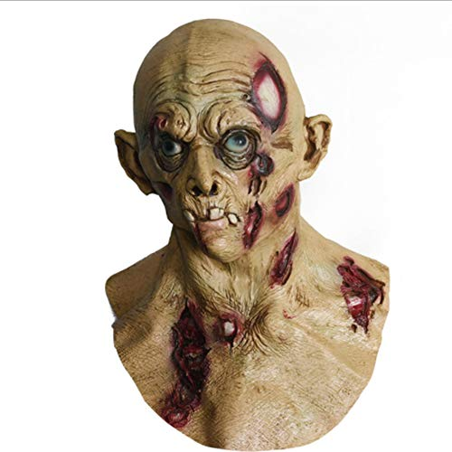 Maskenhaube Der Zahnverfall-Leiche Des Alten Mannes Perfekt Für Eine Spaßige Erinnerung,Halloween, Weihnachten, Ostern, Karneval, Kostüm-Partys, Themen-Partys Oder Einfach Den Gang in Einen - Alte Kostüm Meme