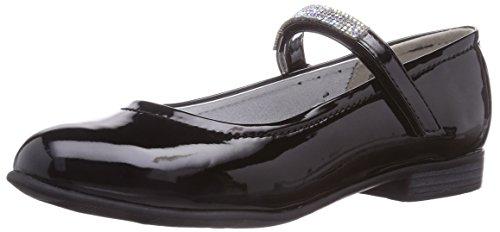 Jane Klain 424 066 Mädchen Geschlossene Ballerinas Schwarz (black patent 007)
