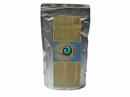 Spirulina pacifica Hawai algas 1000 compactos de 500 mg en rellenos, veganos, alimentos crudos, el original directo de Hawai, contaminante probado.