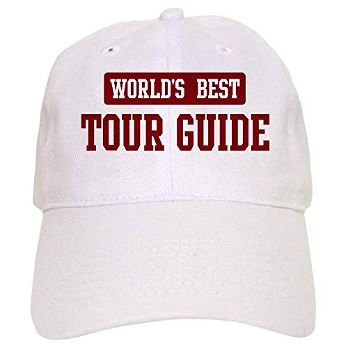 ewtretr Worlds Best Tour Guide Cap - Baseball Cap with Closure, Unique Printed Baseball Hat Adjustable Unisex Suitable for All Seasons Goorin Kids Hat