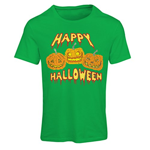 Frauen T-Shirt Happy Halloween! Party Outfits & Costume - Gift Idea (Medium Grün (Muskel Kleinkind Kostüme Ninja)