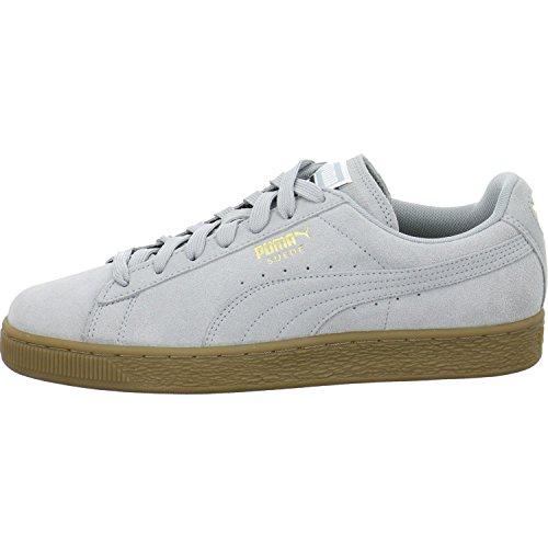 Puma Sneaker Low Suede Classic Gum Größe 44 Grau (Grau)