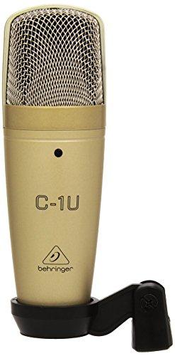 behringer c 1u condenser microphone cardioid musical mahesh. Black Bedroom Furniture Sets. Home Design Ideas