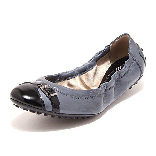 9274 ballerine donna blu nere TOD' S scarpe scarpa shoes women [35]