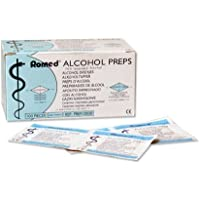 Alkoholtupfer 2-lagig 65 x 30mm Tupfer Alkohol 100 Stück preisvergleich bei billige-tabletten.eu