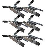 ✓Klemmsicherung Rollladen ✓ Einbruchschutz für das Fenster, Hochschiebesicherung ✓ genial & einfach ✓3 Paar = 6 Stück