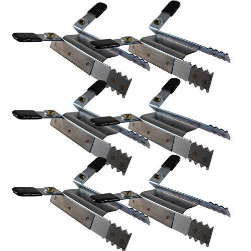 Klemmsicherung für Rollladen, Rolladensicherung Fenstersicherung Einbruch, 3 Paar